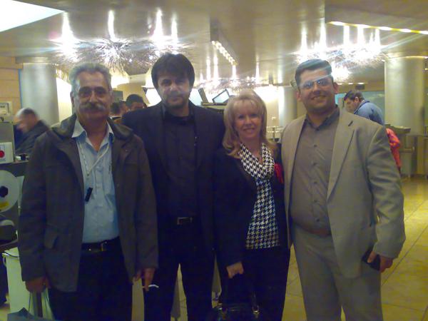 Ο κ. Χουστουλάκης με τήν Κρητικής καταγωγής Οικογένεια Βεργετάκη που διατηρούν μια από τίς πλέον σύγχρονες Μονάδες Τυποποίησης Κρέατος στόν Βόλο Μαγνησίας